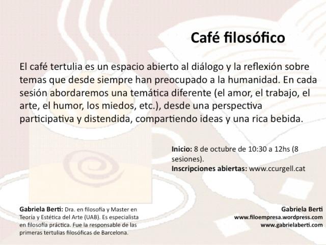 Café Filosofico
